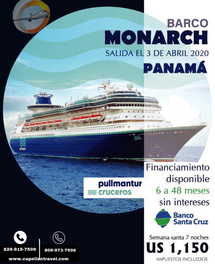 crucero hacia panamá